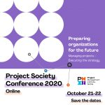 Project Society Conference 2020 – registrations open!
