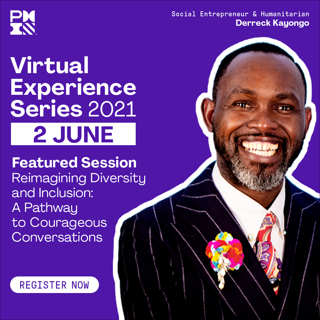 Special discount to PMI Virtual Experience Series 2021 event for chapter members only!